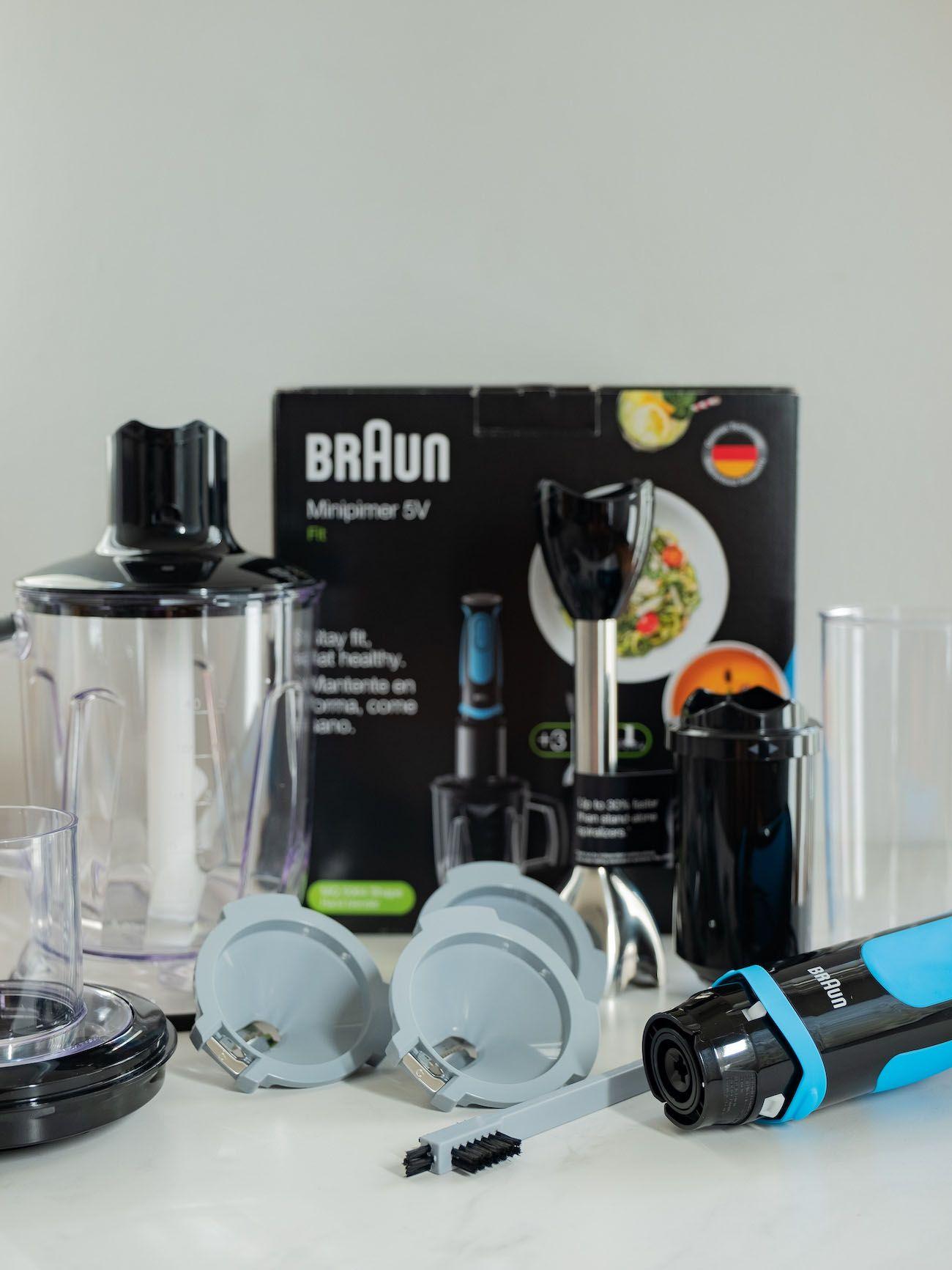 About Fuel, Foodblog, Leckerbissen, Braun Multiquik 5 Vario Fit, Stabmixer, Spiralschneider