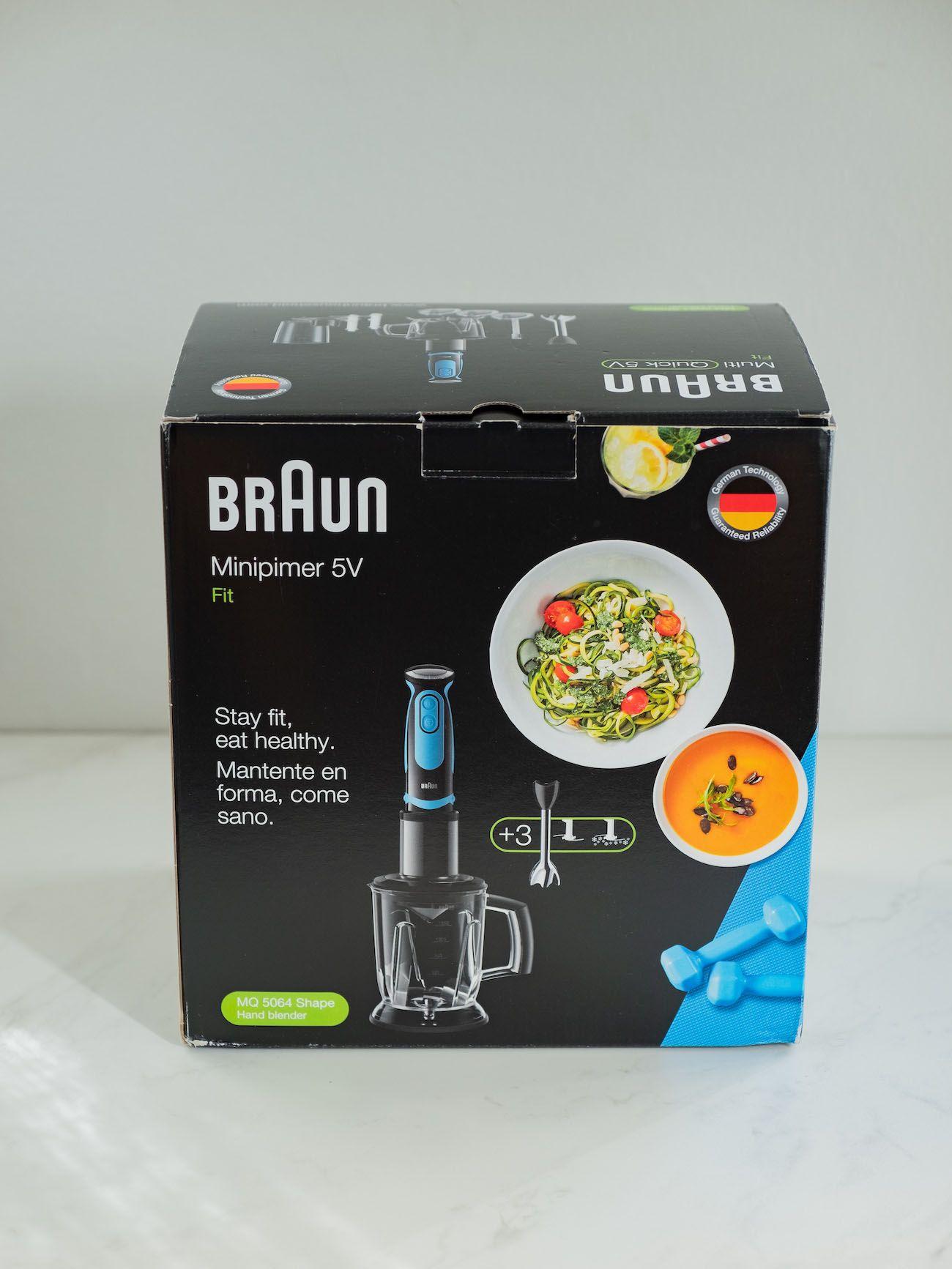 About Fuel, Foodblog, Leckerbissen, Braun Multiquik 5 Vario Fit, Stabmixer