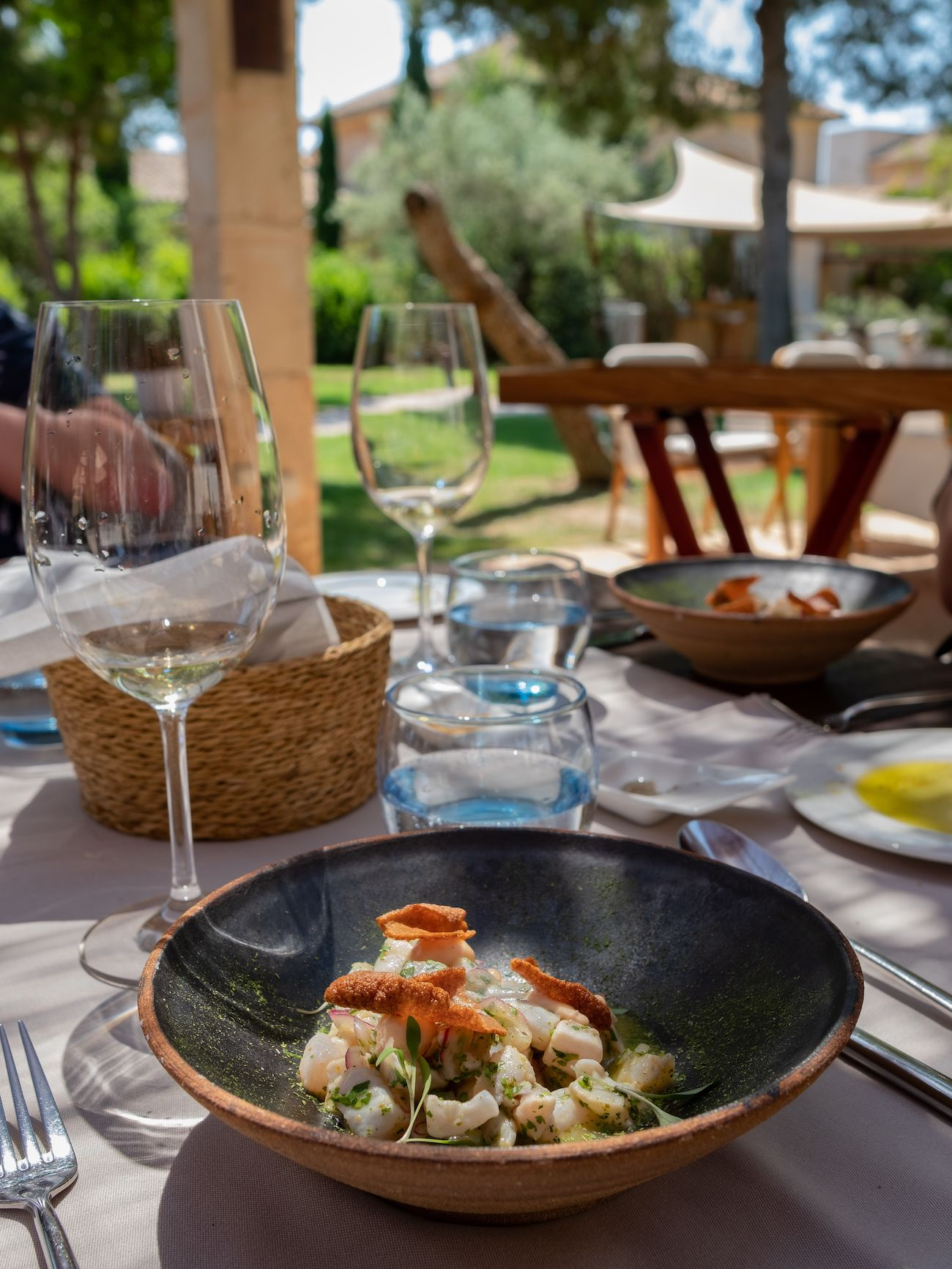 About Fuel, Foodblog, Leckerbissen, Flor de Sal D'es Trenc, Fontsanta, Ceviche, Mallorca