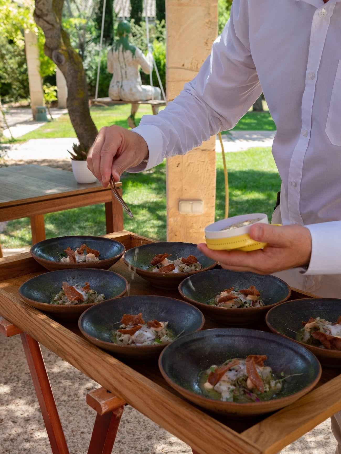 About Fuel, Foodblog, Leckerbissen, Flor de Sal D'es Trenc, Fontsanta, Ceviche