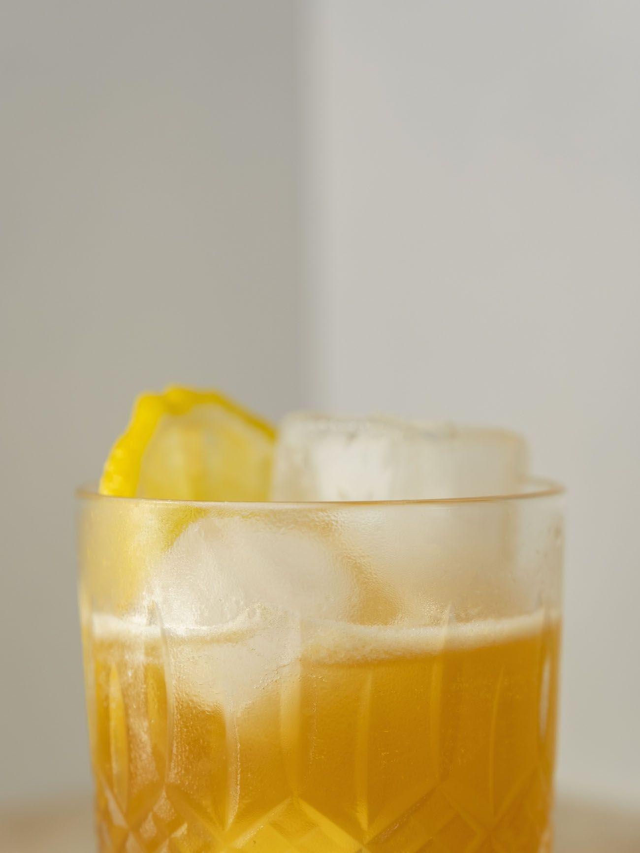 Foodblog, Rezept, Disaronno Sour, Eiswürfel, Drink