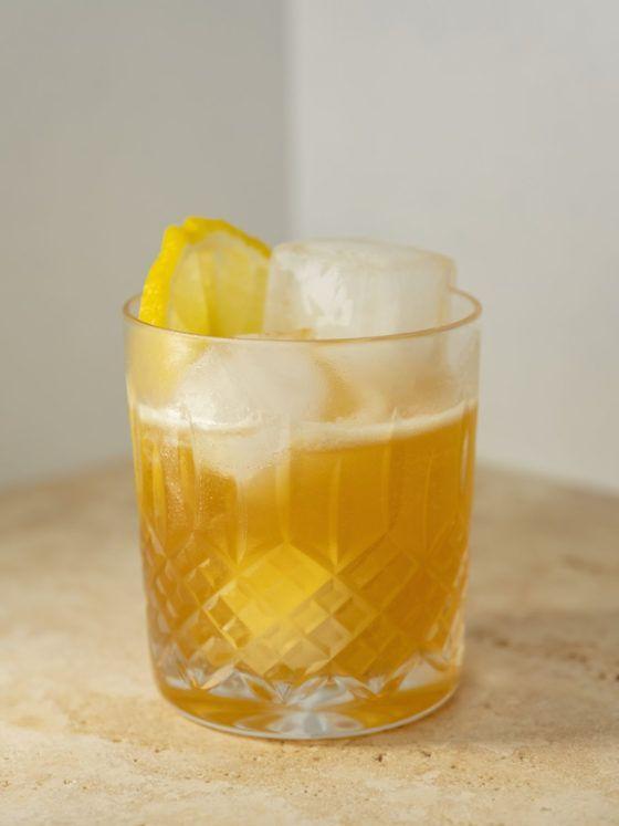 Foodblog, Rezept, Disaronno Sour, Zitrone, Eiswürfel