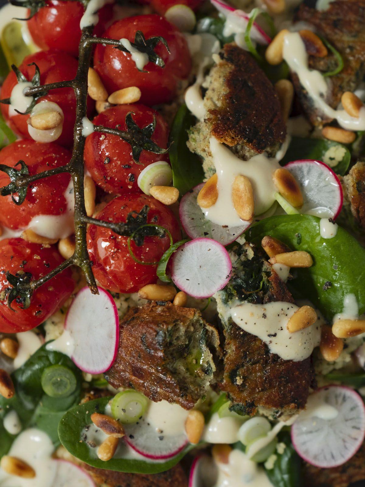 About Fuel, Foodblog, Rezept, Bold Foods The big S, Tomaten, Pinienkerne, Frühlingszwiebeln