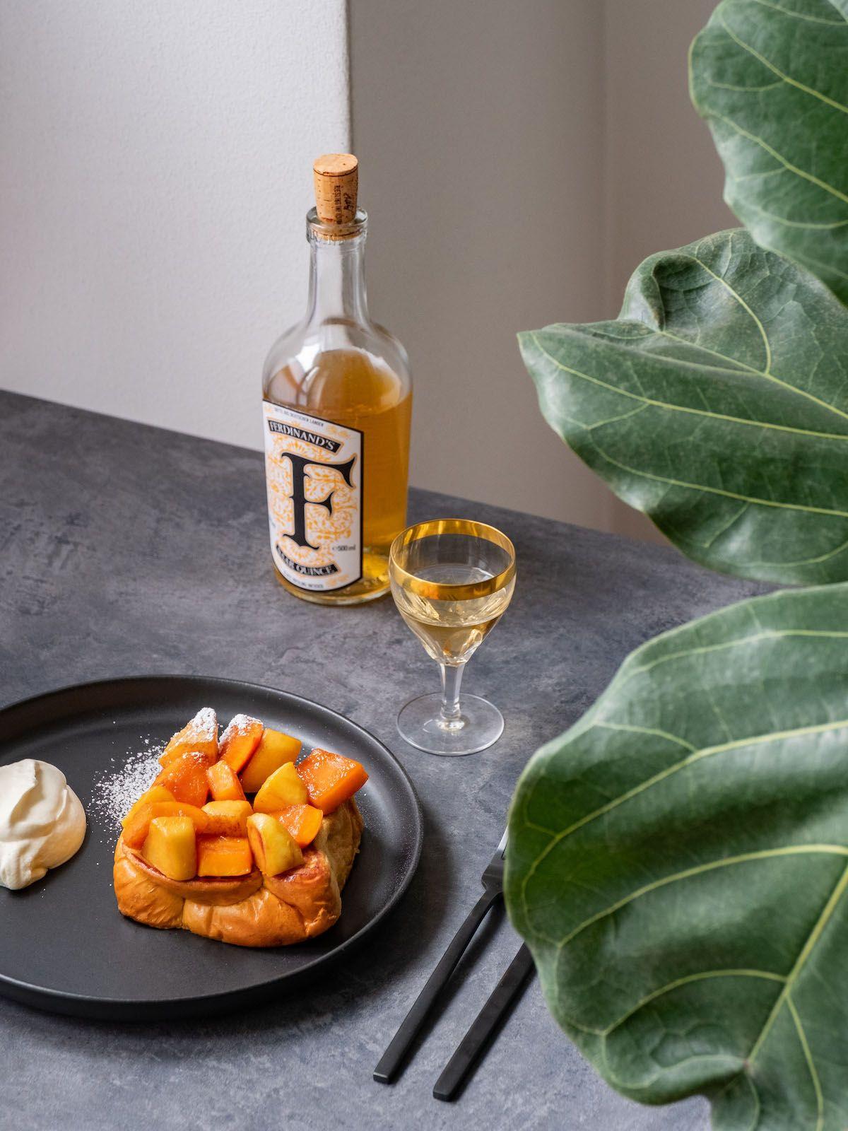 About Fuel, Foodblog, Rezept, French Toast, Ferdinands Saar Quince, Kürbis, Quitte, Sahne