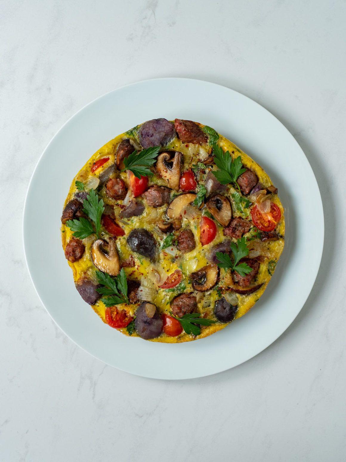 About Fuel, Foodblog, Rezept, Tortilla, Champignons, Kartoffeln