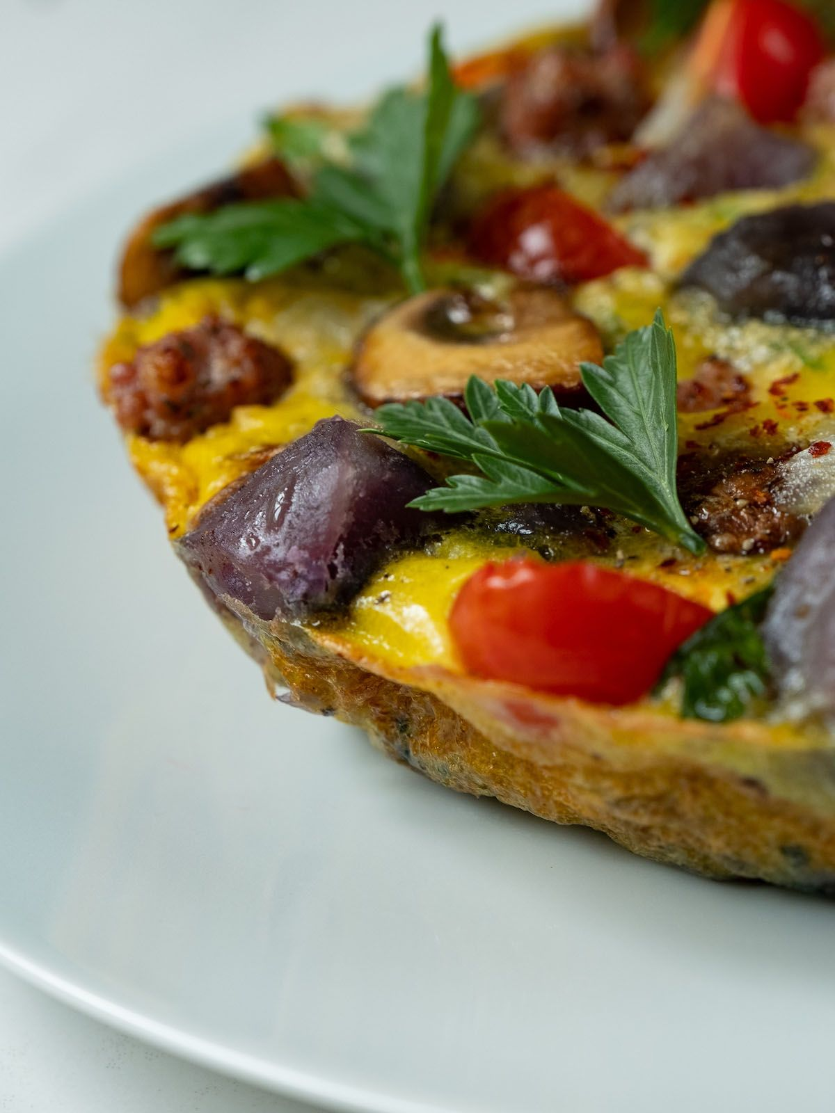 About Fuel, Foodblog, Rezept, Tortilla, Tomaten, Ei, Petersilie, Zwiebeln, Chili