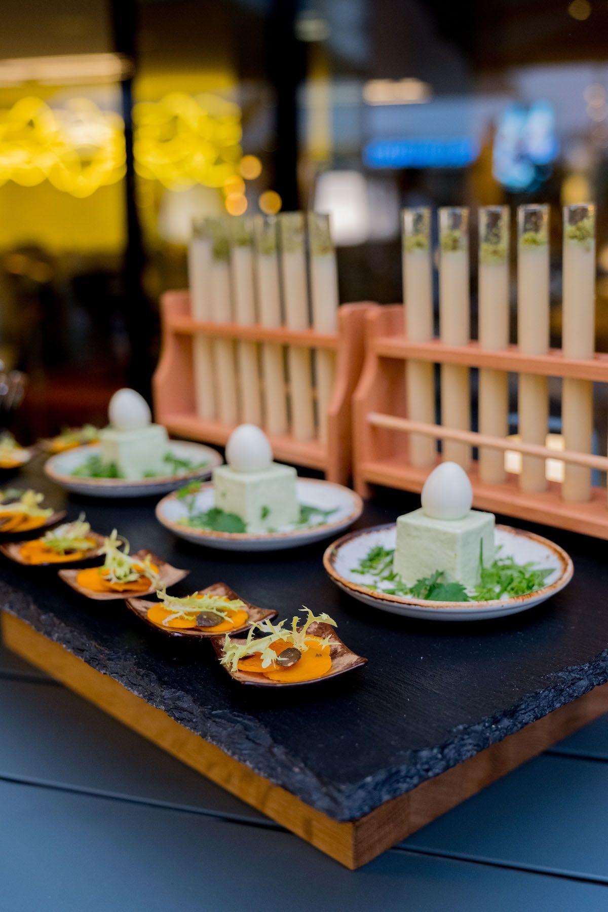Foodblog, About Fuel, Leckerbissen, Scandic Hotel Frankfurt, Vorspeise, Wachteleier