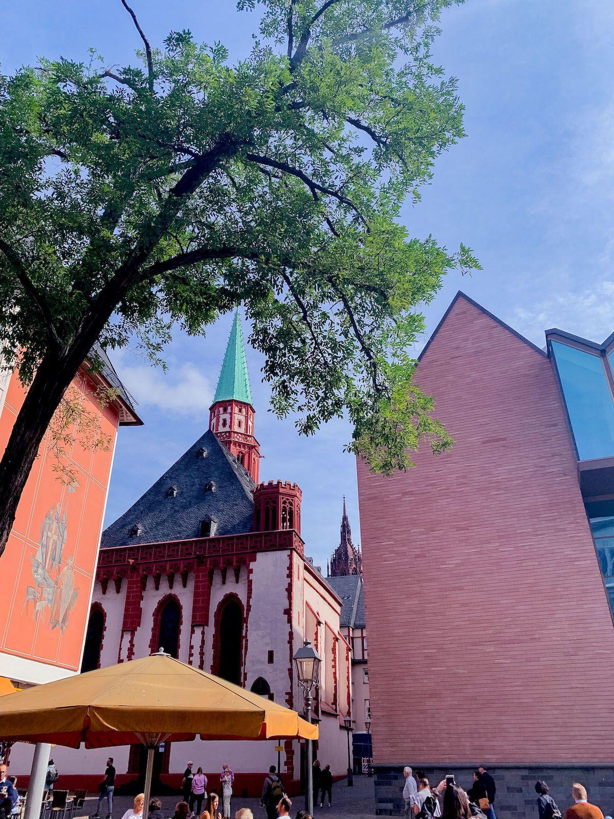 Foodblog, About Fuel, Leckerbissen, Scandic Hotel Frankfurt, Wolkenkratzer, Kirche