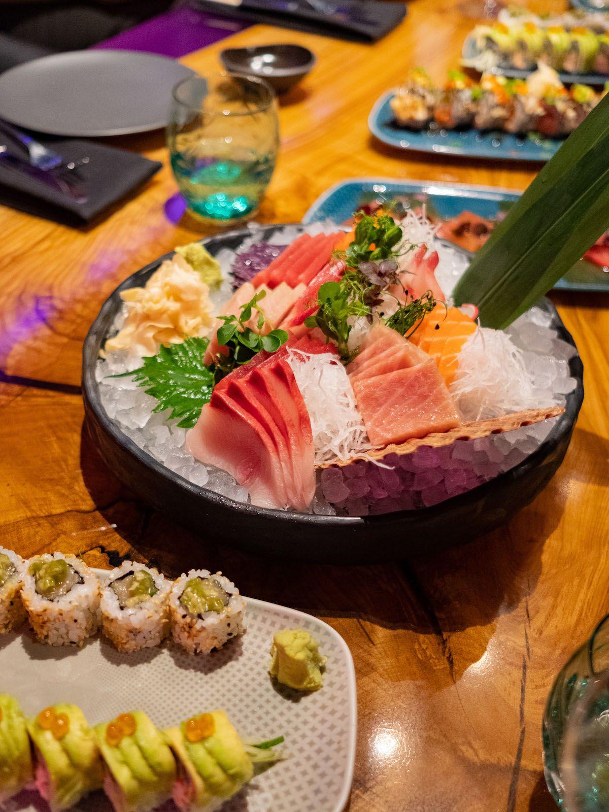 Foodblog, About Fuel, Leckerbissen, The Catch Berlin, Sashimi, Fisch, Sushi, Rolls, Roher Fisch