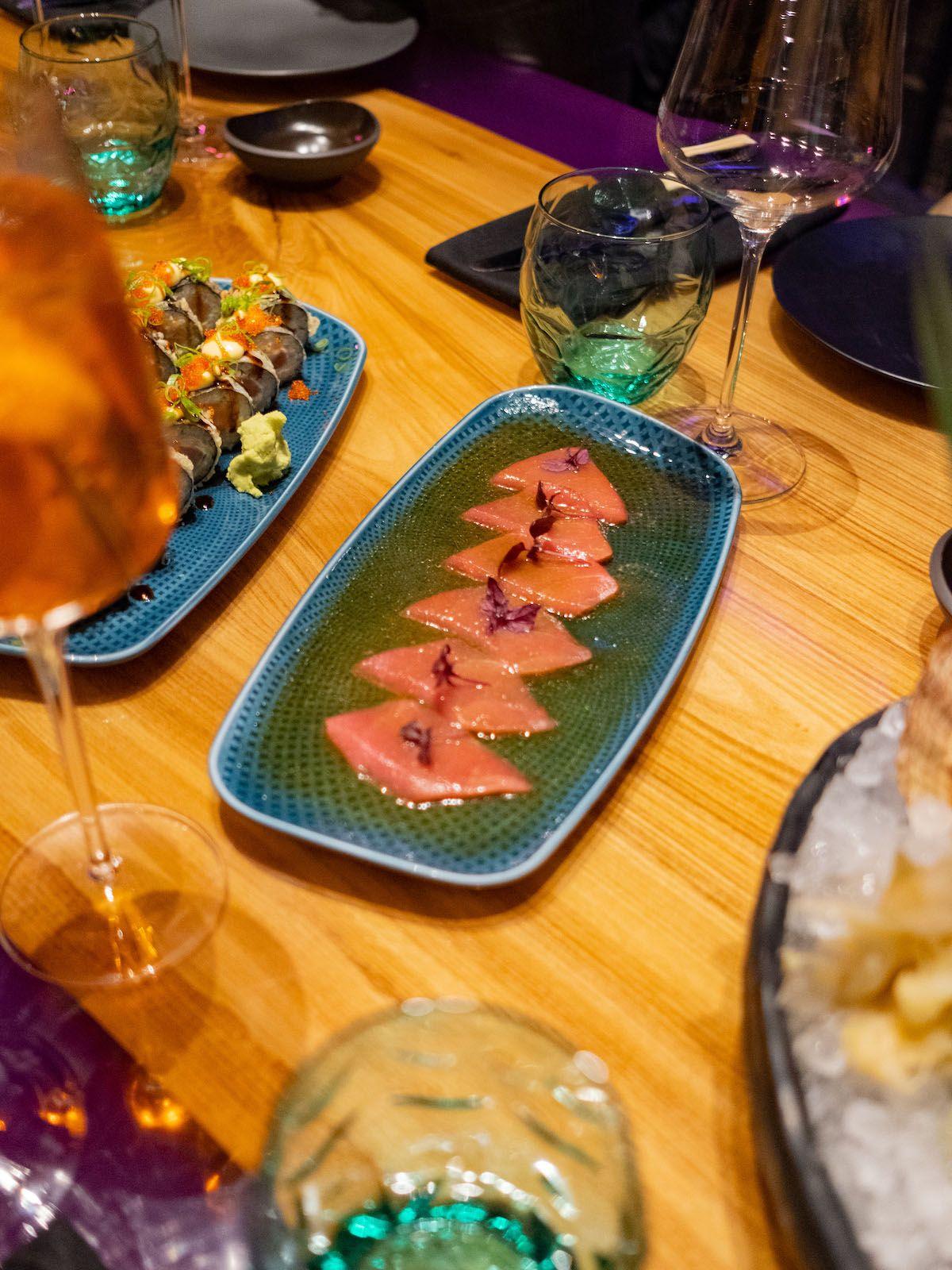 Foodblog, About Fuel, Leckerbissen, The Catch Berlin, Tataki, Sashimi, Ponzu, Dinner