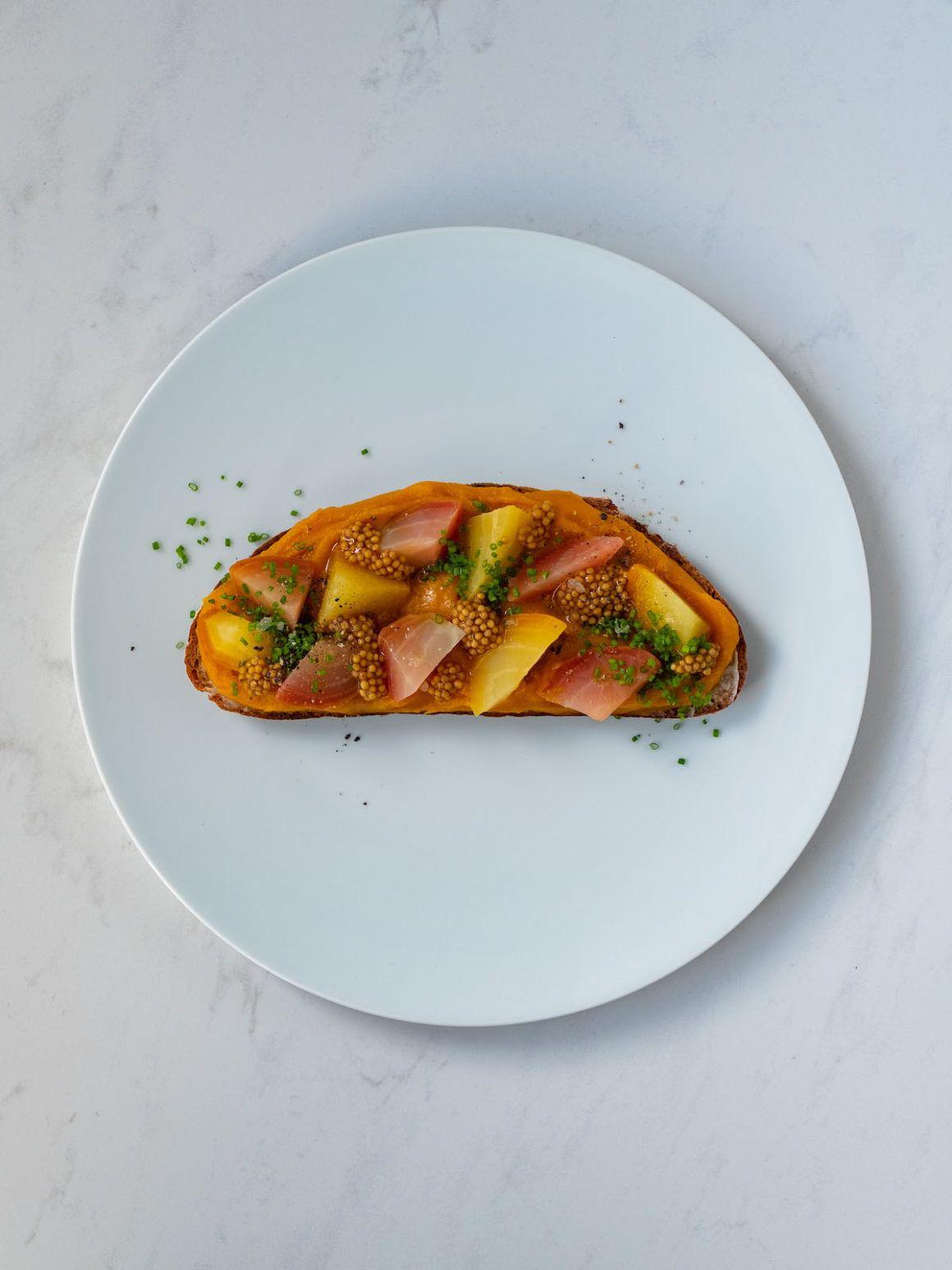 Foodblog, About Fuel, Rezept, Sandwich, Kürbis Zwiebel Marmelade, Gelbe Bete