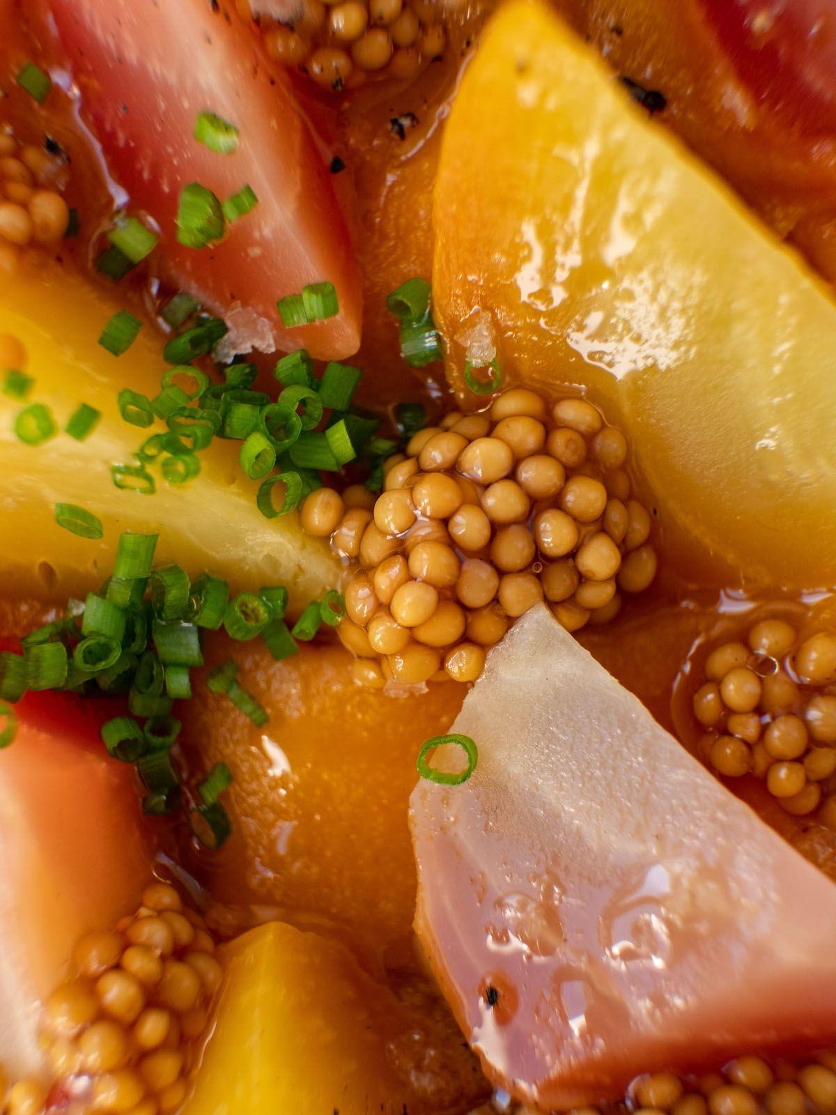 Foodblog, About Fuel, Rezept, Sandwich, Kürbis Zwiebel Marmelade, Senfcaviar, Schnittlauch, Gelbe Bete