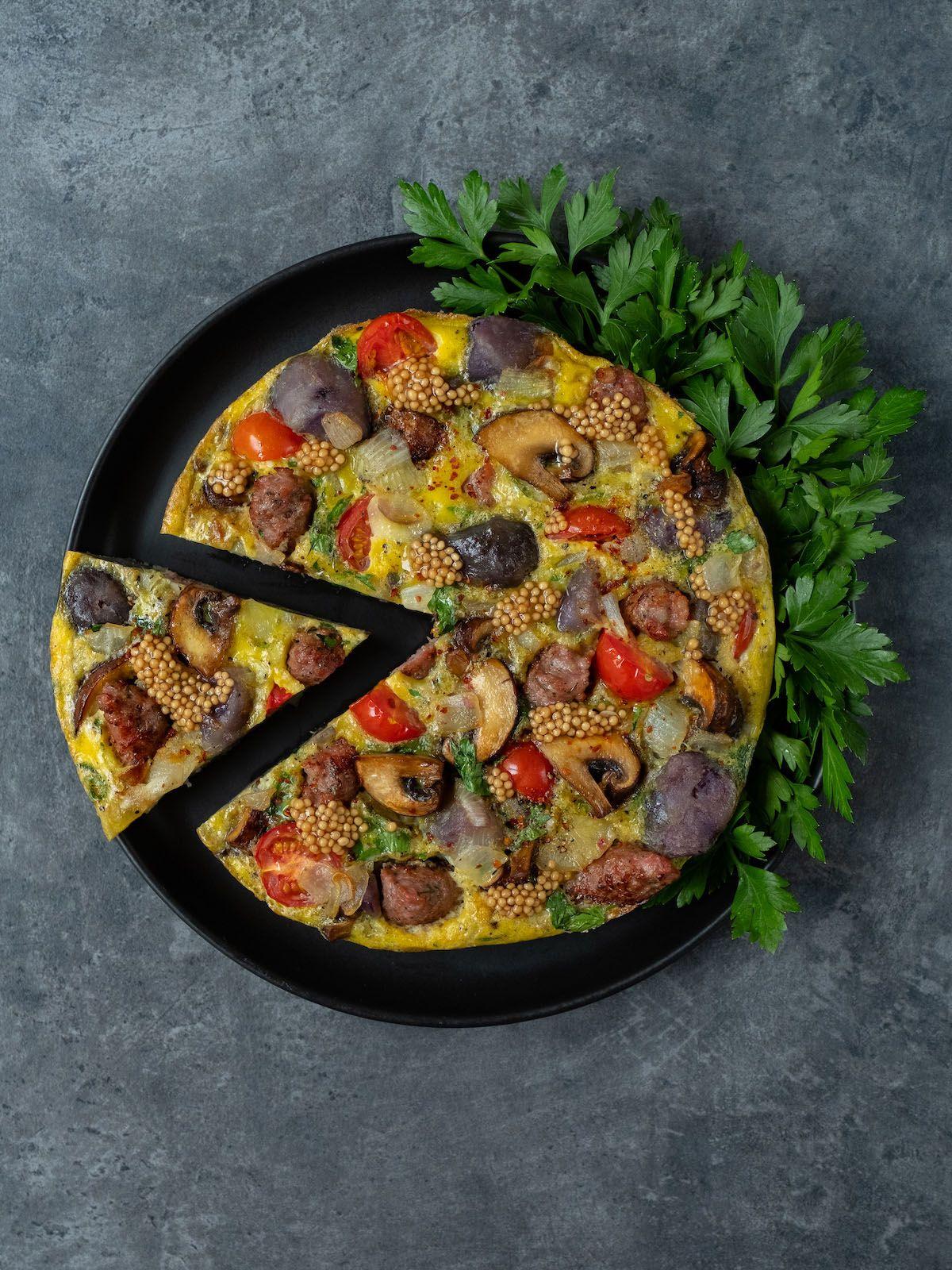 Rezept, Foodblog, Abput Fuel, Senfcaviar, Tortilla, Petersilie