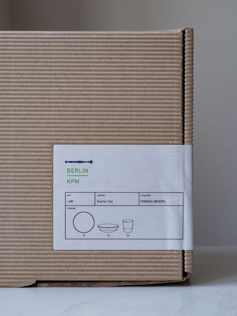 About Fuel Adventskalender Königliche Porzellan Manufaktur, KPM, Packaging, LAB, Set