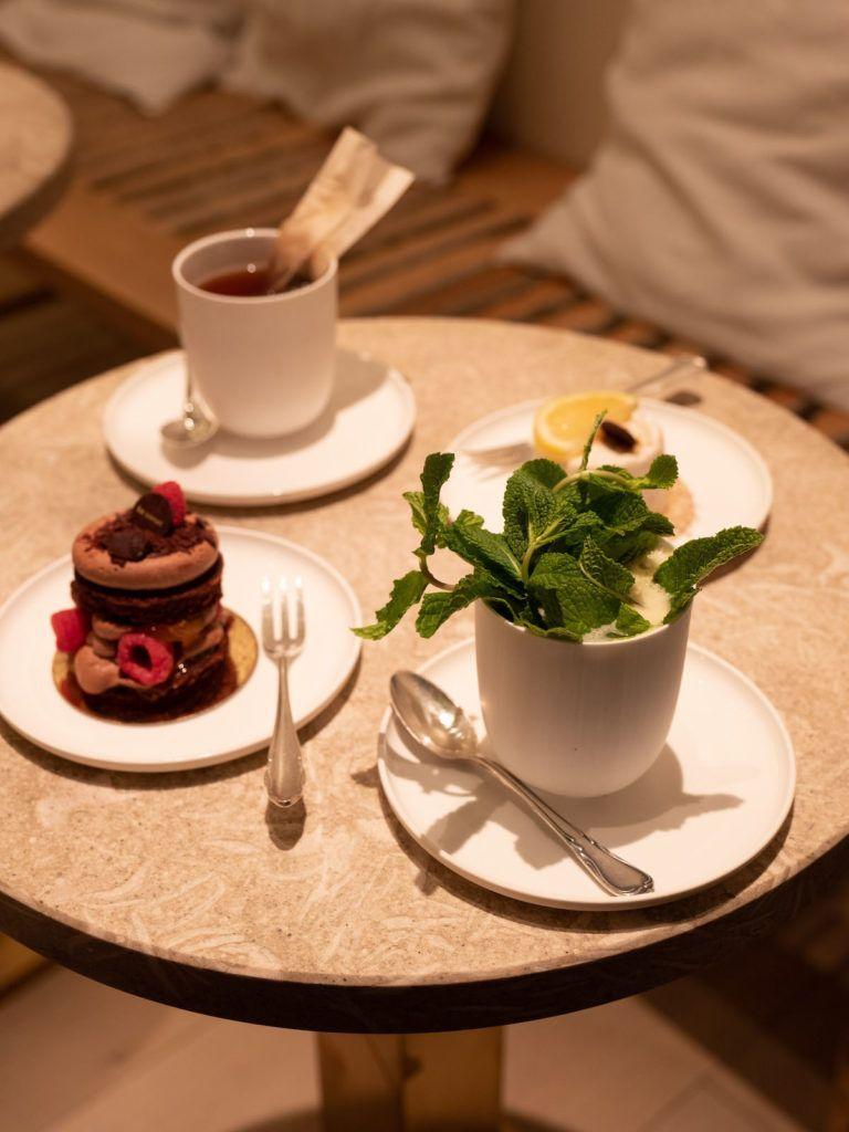 About Fuel, Food Blog, Berlin, Be Sweet, Dessert, Himbeere, Zitronenprinz, Tee, Minze