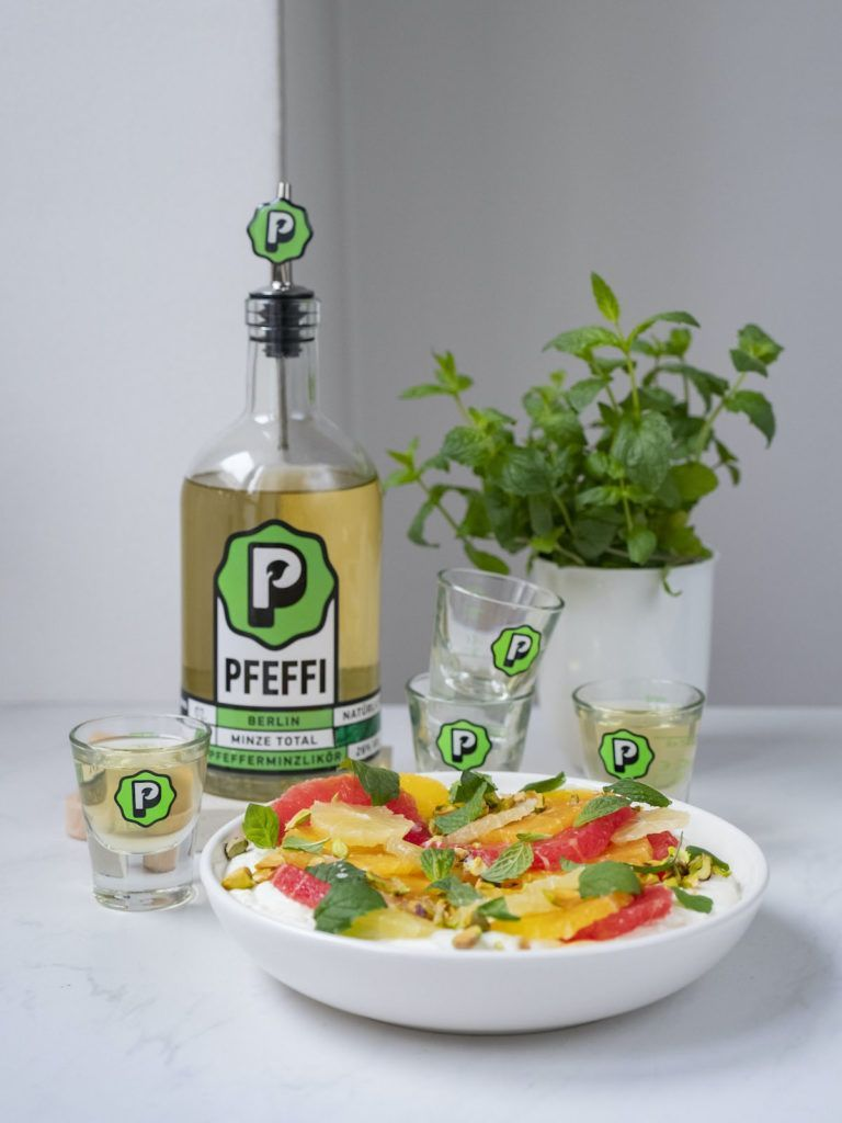 About Fuel, Foodblog, Pfeffi Berlin, Minze, Orange, Pink Grapefruit
