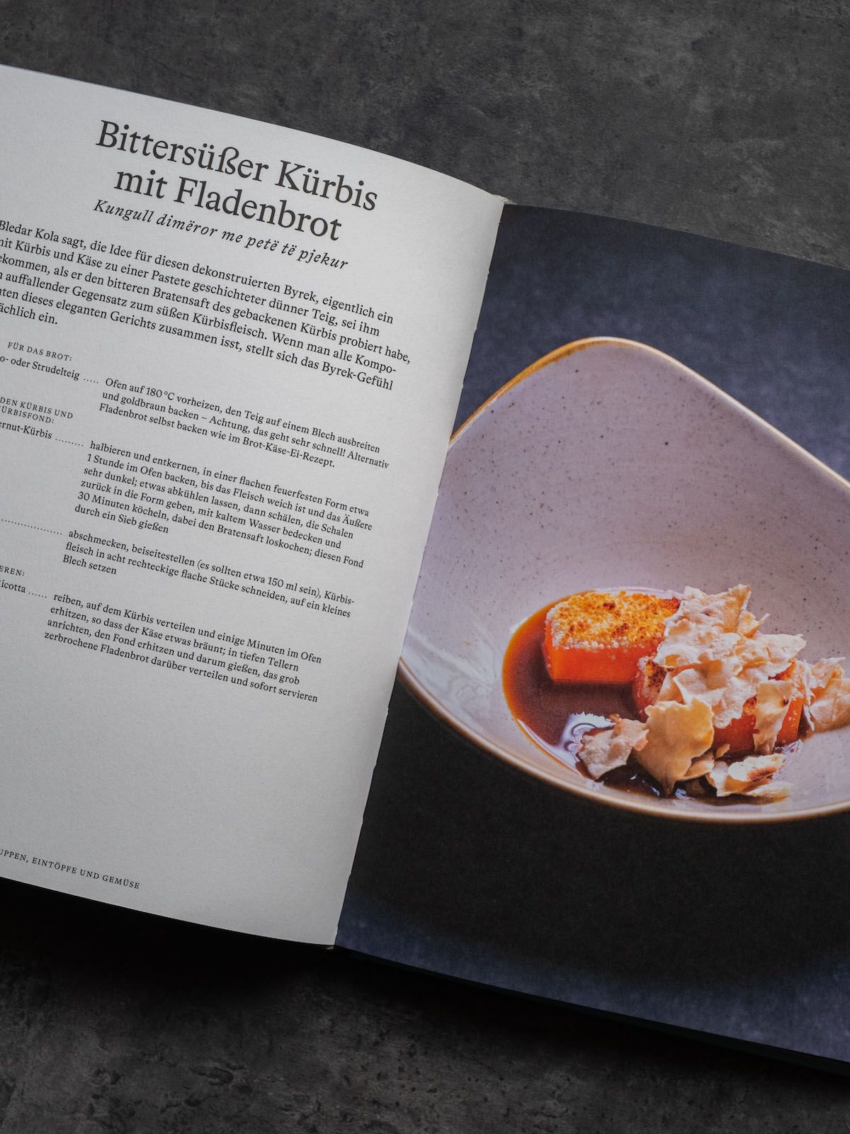Leckerbissen About Fuel Foodblog Bledar Kola Kochbuch, Dessert, Kürbis