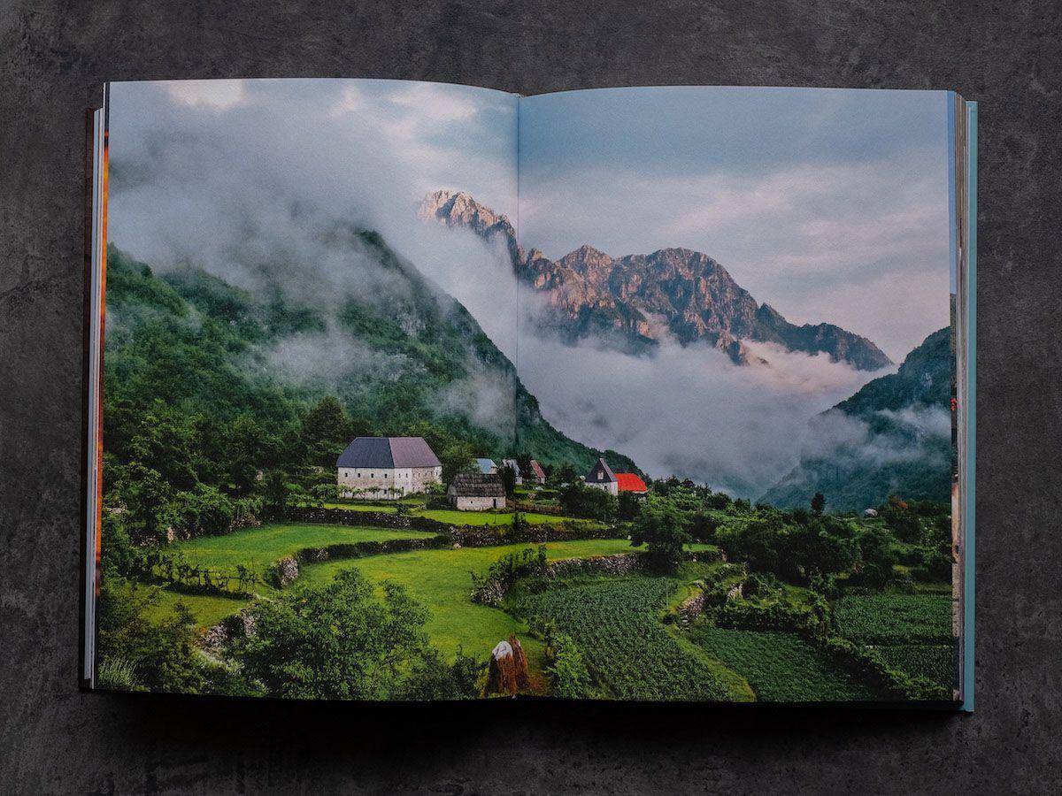 Leckerbissen About Fuel Foodblog Bledar Kola Kochbuch, Landschaft