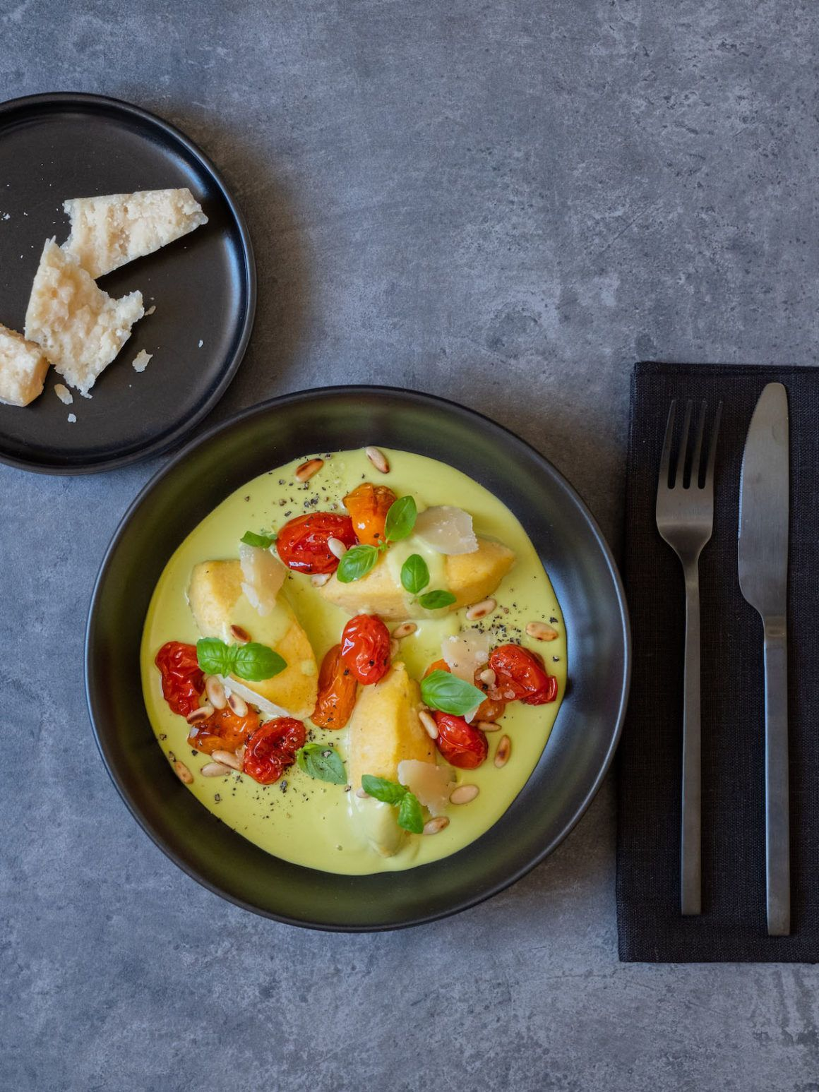 About Fuel, Foodblog, Rezept, Parmesan, Parmigiano Reggiano, Pinienkerne