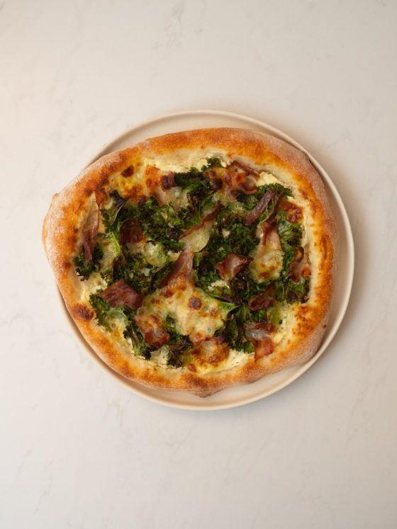 About Fuel, Foodblog, Rezept, Pizza, Mozzarella, Speck