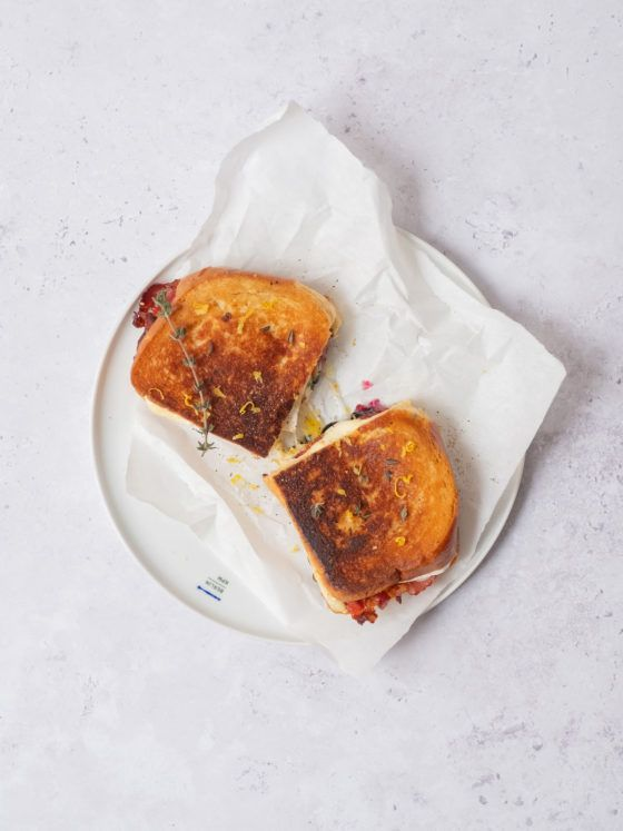 About Fuel, Rezept, Grilled Cheese Sandwich, Camembert