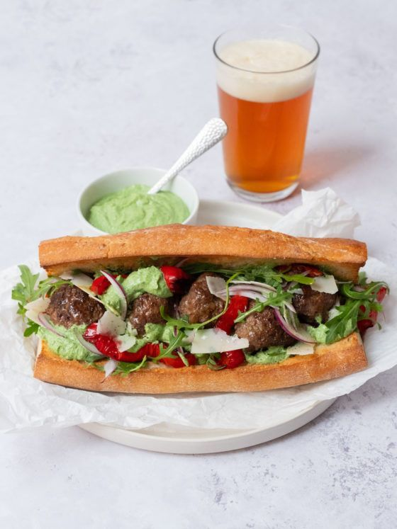 About Fuel_Rezept, Rucola, Paprika, Sandwich, Zwiebeln, Parmesan
