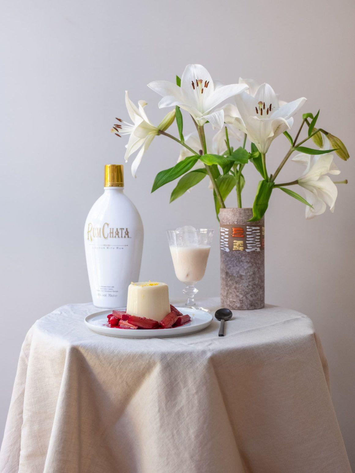 Foodblog, About Fuel, Rezept, Rhabarber, Panna Cotta, Likör, Dessert