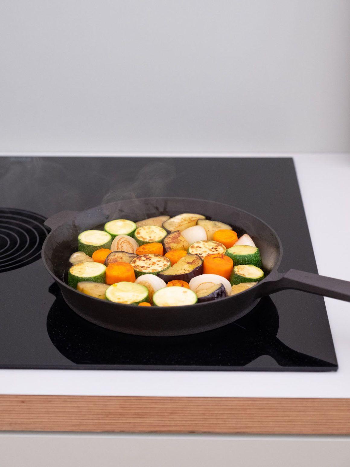 Foodblog, About Fuel, Rezept, Pfanne, Gemüse
